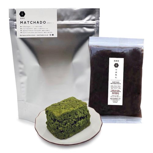 【Trial Pack】Organic Matcha Scones (Pack of 3) with Red Bean Paste
