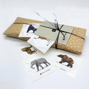 Baby & Kids Organic Barley Tea + 3 Animal Stickers and Card