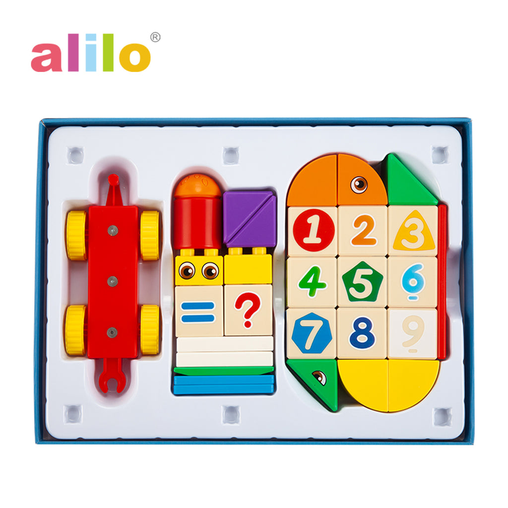 Alilo Magnetic Building Blocks - Stack & Count