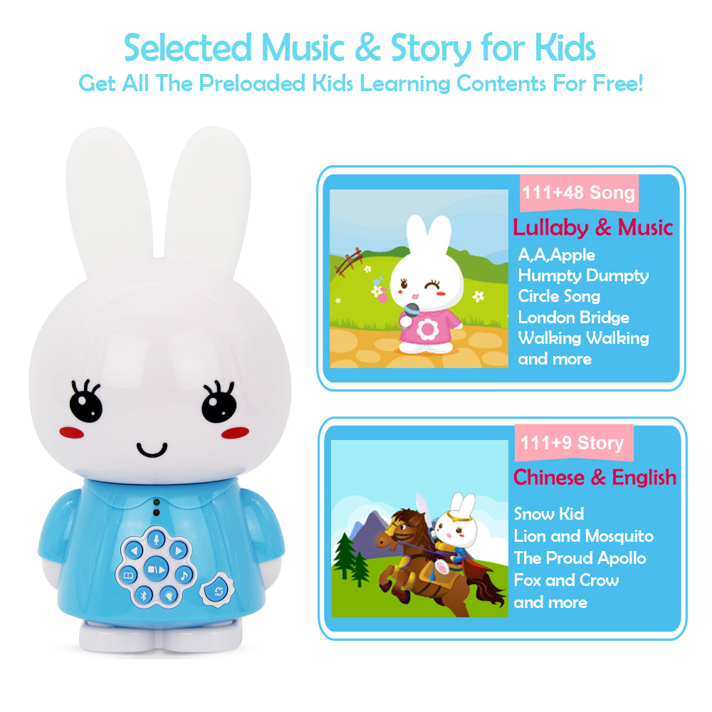 Alilo Bilingual Honey Bunny with Bluetooth