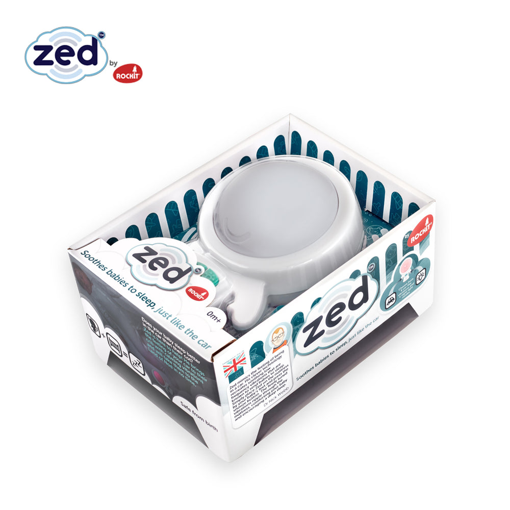 Zed Vibration Sleep Soother and Night Light
