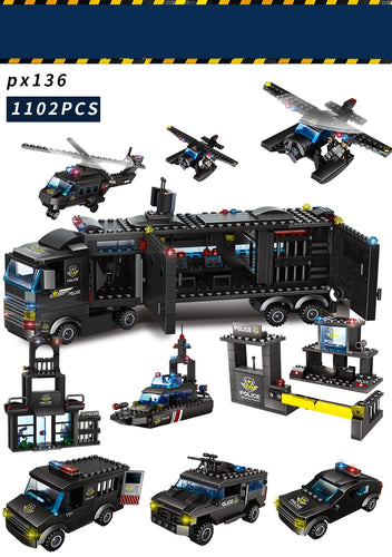 Kit de Blocos Lego:  Policia Swat