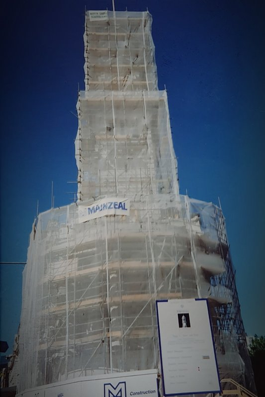 North Shore Scaffolding Project: Auckland City Town Hall