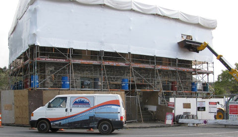 North Shore Scaffolding Projects: The Stone Store restoration at Kerikeri Mission Station