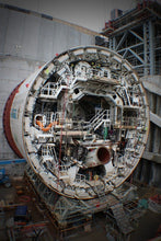 Load image into Gallery viewer, Alice the Tunnel Boring Machine (TBM) under construction at the Wateview Connection Tunnel