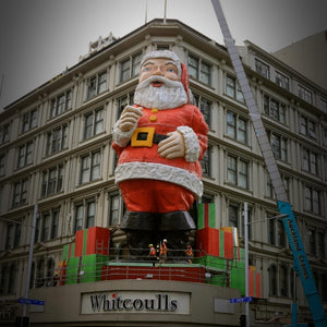 Auckland Santa Whitcoulls Building Queen Street