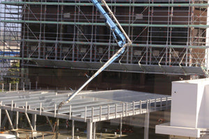 Allround Bridging System close up view of 25 metre span