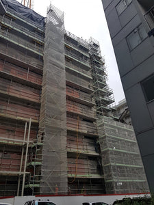 Scaffolding Edge Protection and Scaffolding Stair Access at Union & Co Apartments