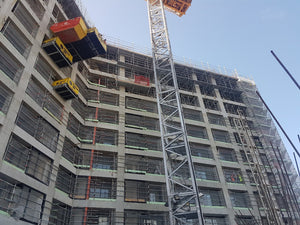 Scaffolding Edge protection at Union & Co Apartments