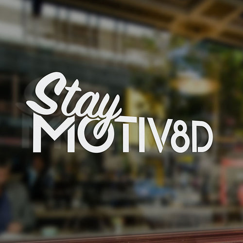 Stay MOTIV8D Decal