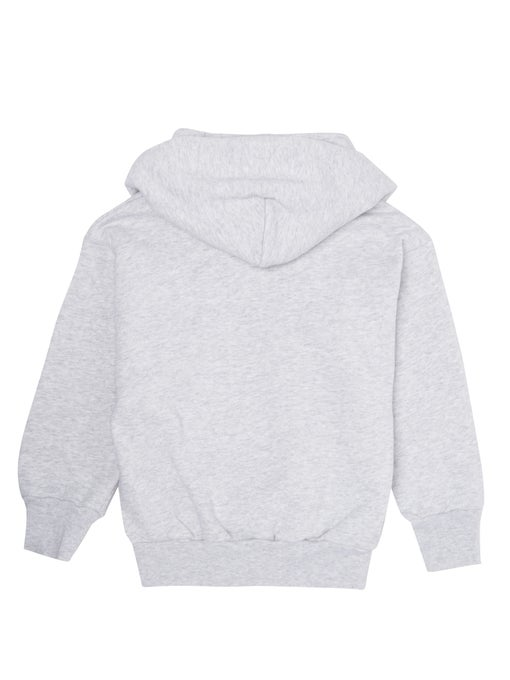 BALENCIAGA Classical Grey Hoodie With Logo