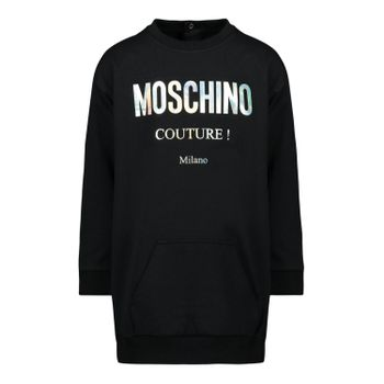MOSCHINO TEEN Black Couture Dress
