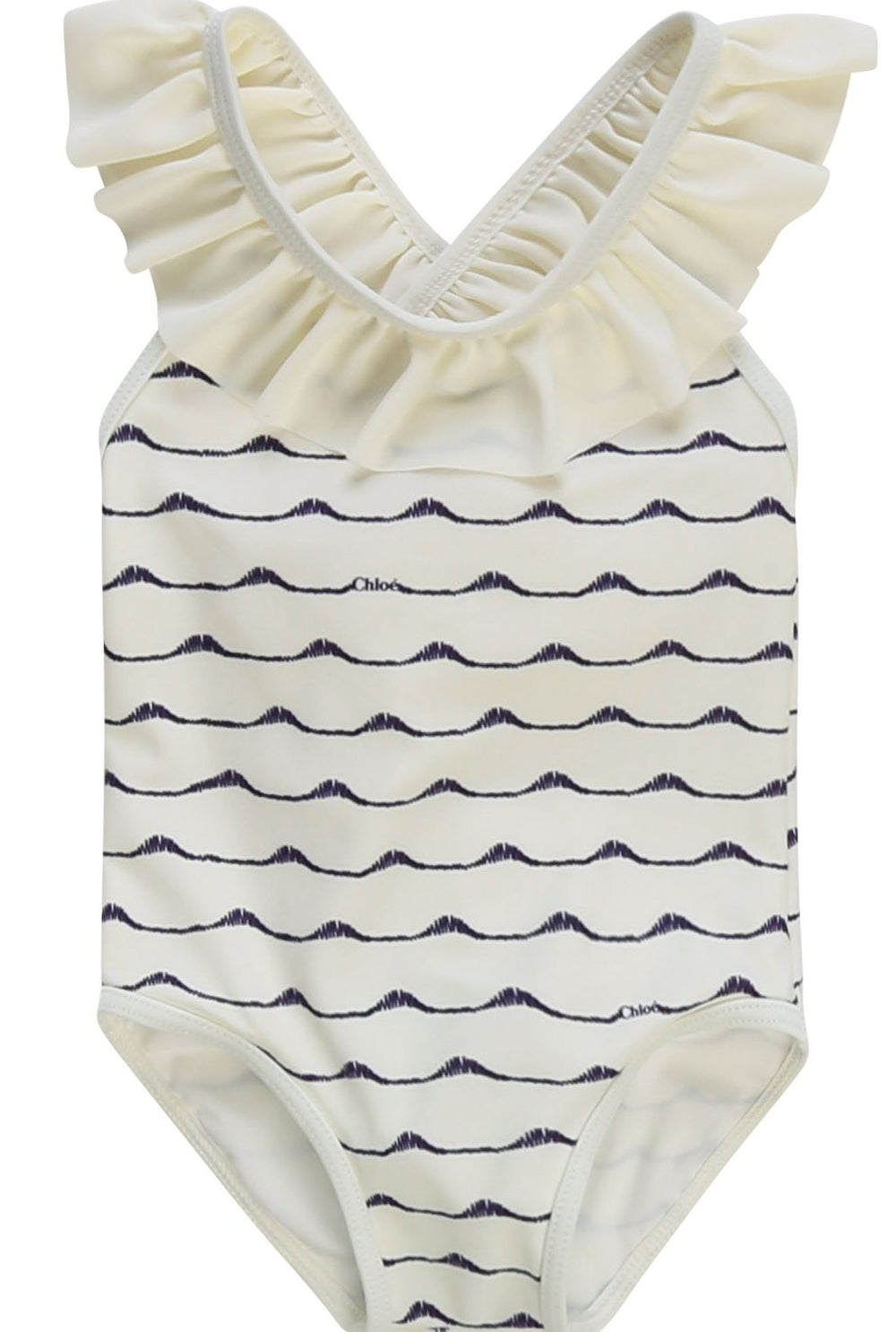 CHLOE Baby Swimsuit With Frills