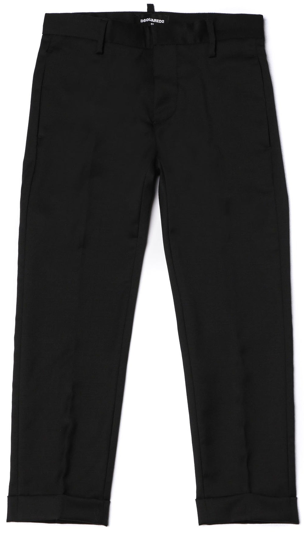 DSQUARED2 KIDS Black Party Trousers
