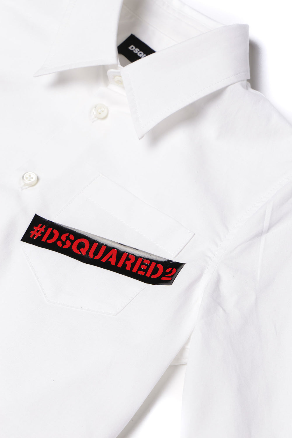 DSQUARED2 KIDS White Shirt With Logo