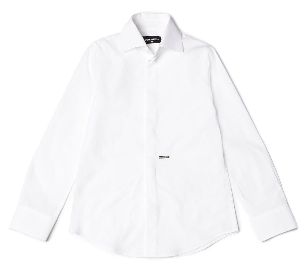 DSQUARED2 KIDS Classical White Shirt