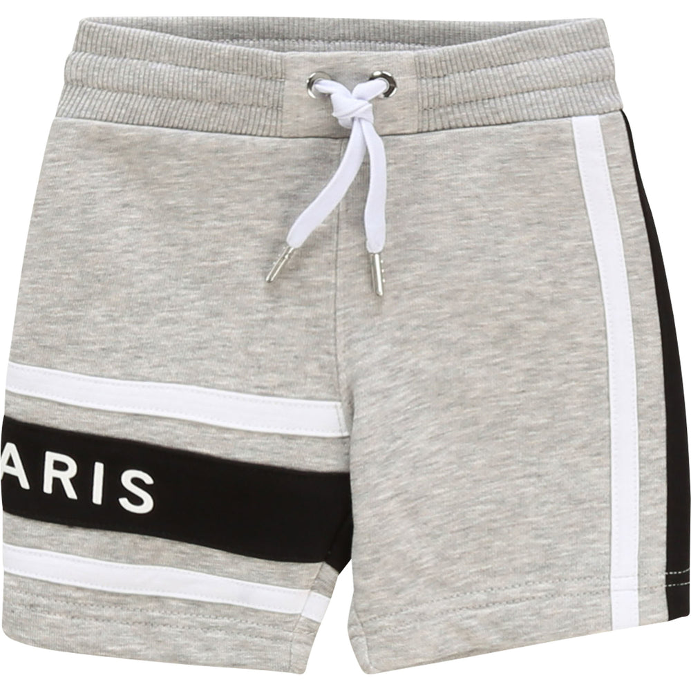 GIVENCHY Grey Shorts For Babies and Toddlers