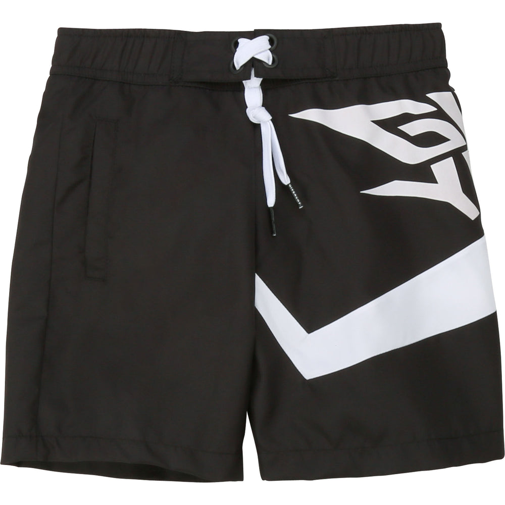 GIVENCHY Swim Shorts with Logo Print
