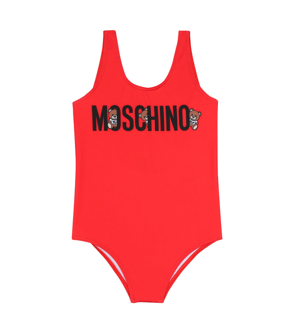 MOSCHINO Swimsuit With Bear Logo