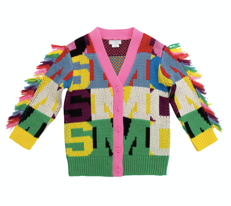 STELLA McCARTNEY KIDS Cardigan with Letters