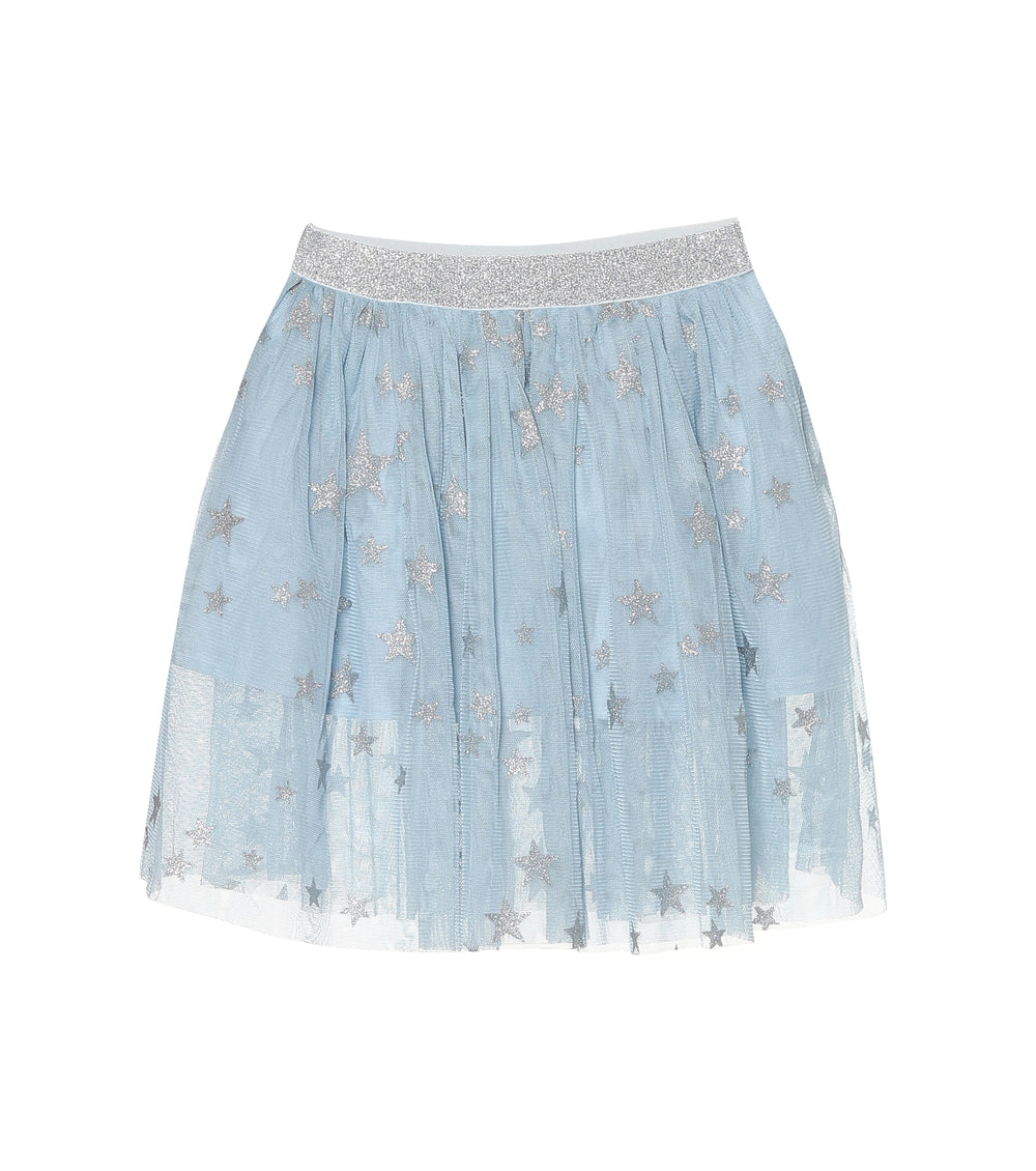 STELLA McCARTNEY KIDS Silver Stars Tulle Skirt
