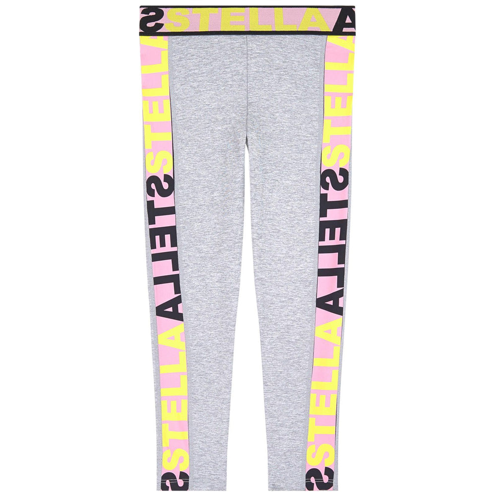 STELLA McCARTNEY KIDS Sport Leggings with Logo Elastic