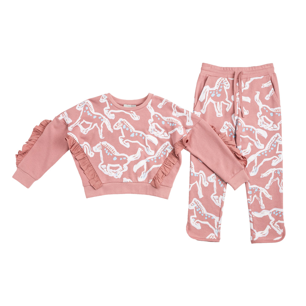 STELLA McCARTNEY KIDS Painted Horses Joggers