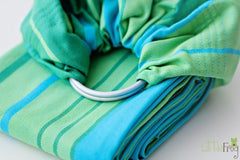 Little Frog Ring Sling - Turquoise
