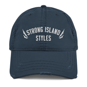 Strong Island Styles Distressed Dad Hat