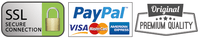 VISA, PayPal, MasterCard, American Express, AMEX, Secured payment | wooden construction kits
