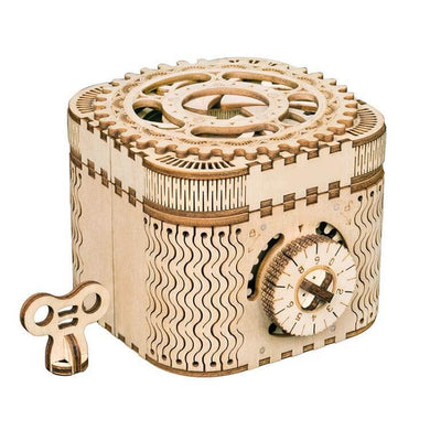 Treasure box with numerical code