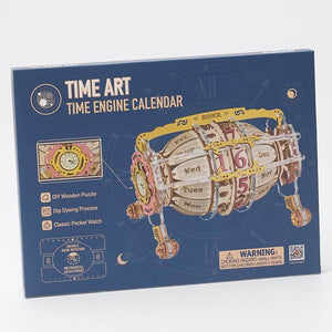 Time Engine Calendar with Watch