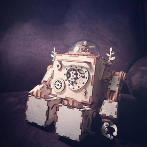 Robb-i: Robot with precision music box