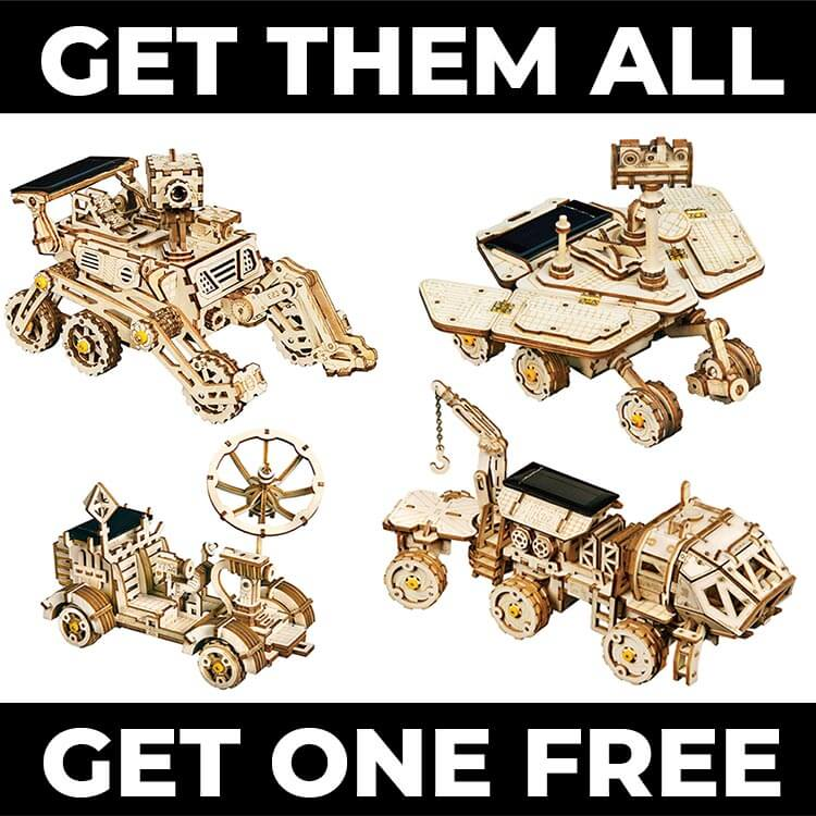 Space Rover Bundle (4 for 3 * you get 1 free!)