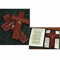 Two Piece Memorial Cross Set
