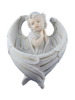 Precious Angel Holy Water Font - Catholic Gifts Canada