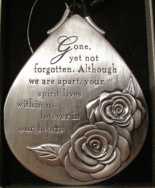 Gone Yet Not Forgotten Ornament - Catholic Gifts Canada