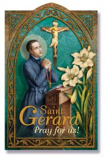 St. Gerard Prayer Card - Catholic Gifts Canada