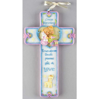 Little Blessings Wall Cross