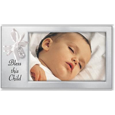 Bless This Child Picture Frame - Catholic Gifts Canada