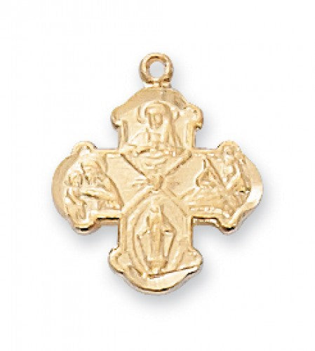 4 Way Cross Necklace for Babies