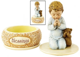 Praying Boy Keepsake Box