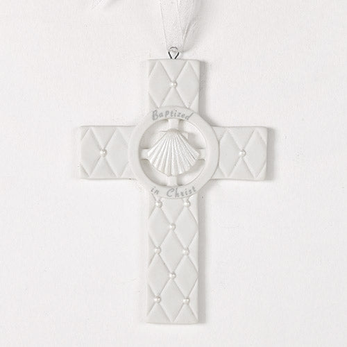 Baptismal Cross/Cradle Medal