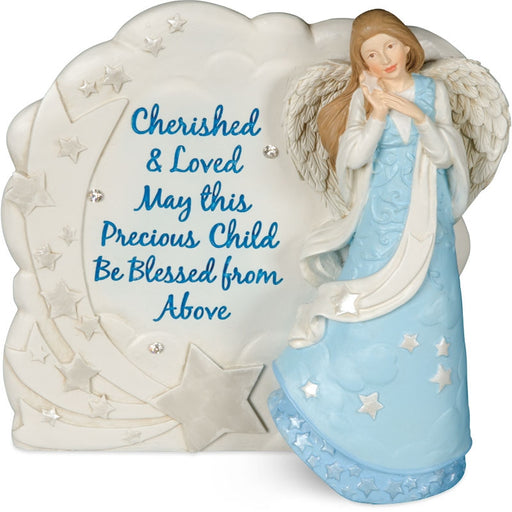 Angel Blessings Plaque for a Boy