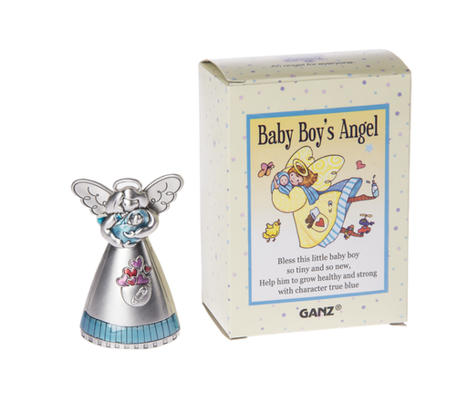 Baby Boy's Angel Figurine