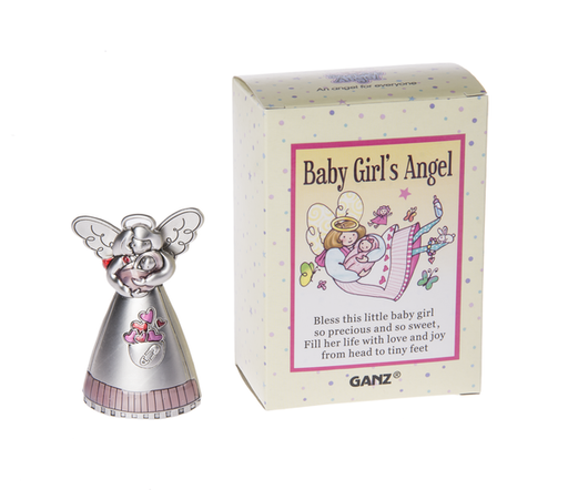 Baby Girl's Angel Figurine