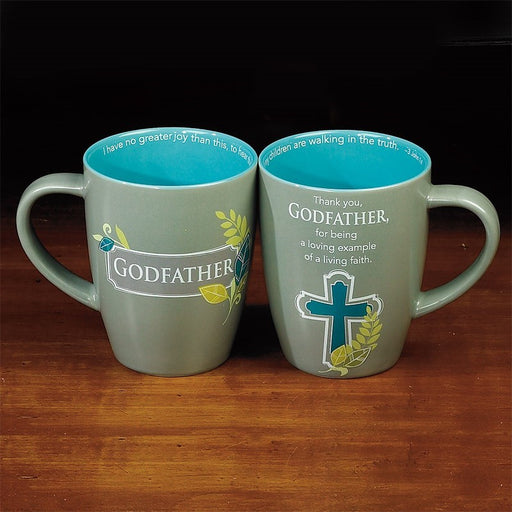 Godfather Mug with Scripture