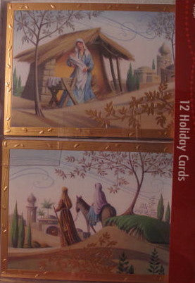 Nativity-Themed Boxed Cards (12)