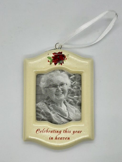 Memorial Photo Frame Ornament - Catholic Gifts Canada