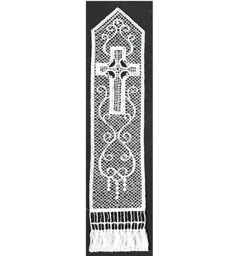 Belgian Lace Cross Bookmark